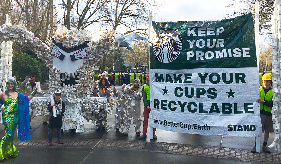We Helped Starbucks Create a Victory for the Environment!